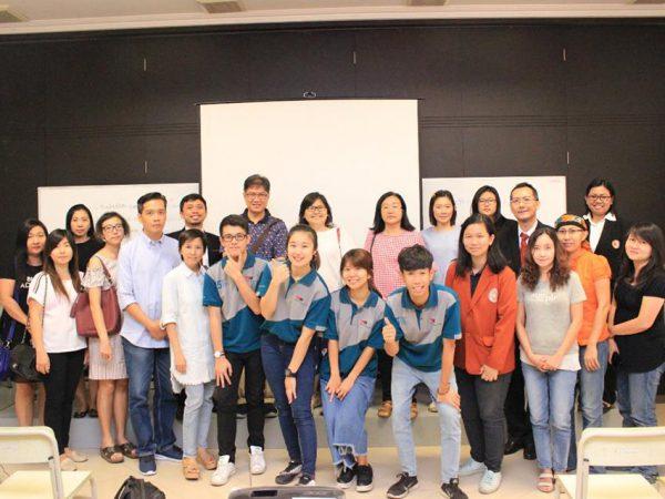 Kunjungan Universitas Katolik Fu Jen Taiwan